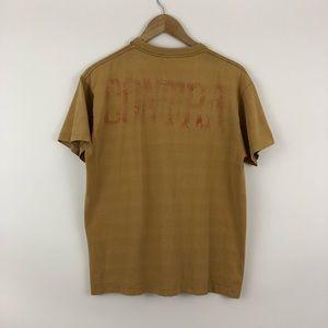 Vintage Shirts - Vintage Contra Mustard Shirt / Medium